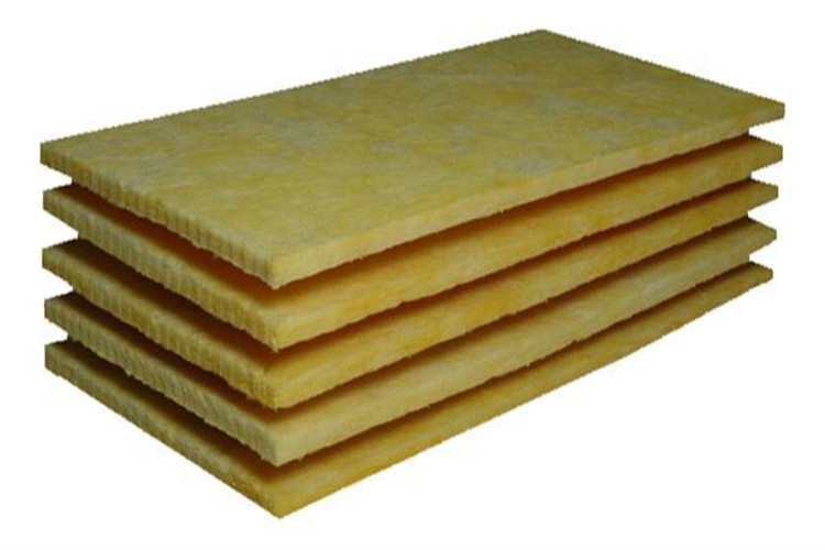 25mm thick glass wool board duct insulation